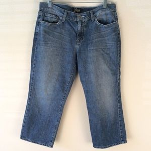 Lackey Brand Classic Rider Crop Jeans 14